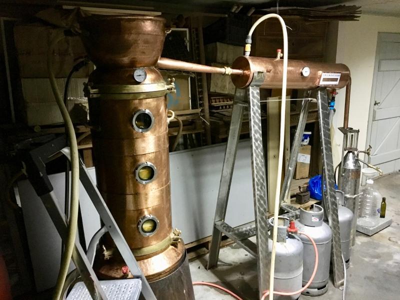 Destillations-Anlage