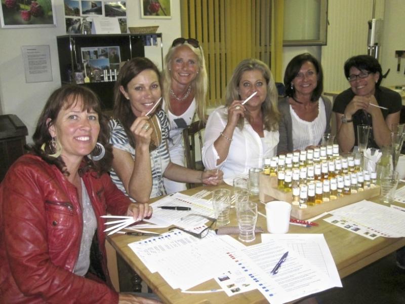 Parfumworkshop - Teilnehmerinnen