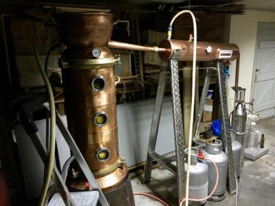 Mandarinenöl destillieren